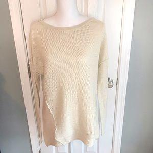Michael Stars exposed seam tunic sweater, M/L